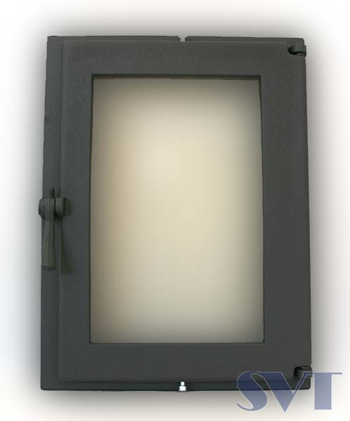 Fireguard door 505 with double glass