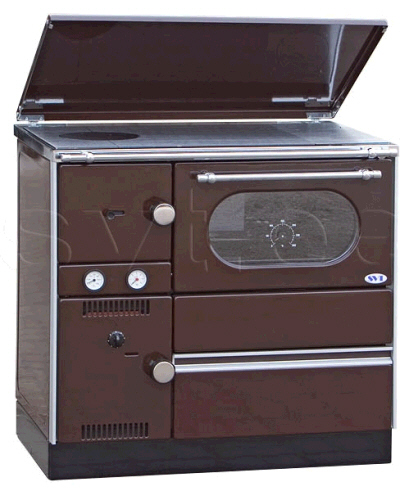 Centralheating cooker Alfa Term 20 brown righthanded 20kW