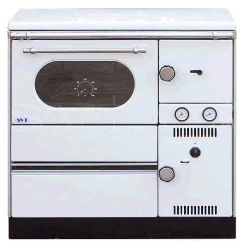 Central heating cooker Alfa Term 20 left white 20kW