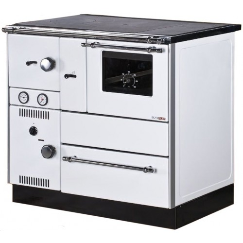 Centralheating cooker Alfa Term 27 white righthanded 27kW