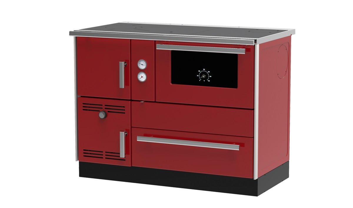Centralheating cooker Alfa Term 35 redrighthanded 32kW