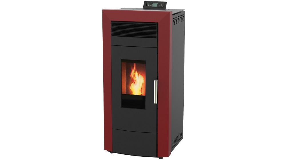Centralheating pellet stove Commo red 21kW