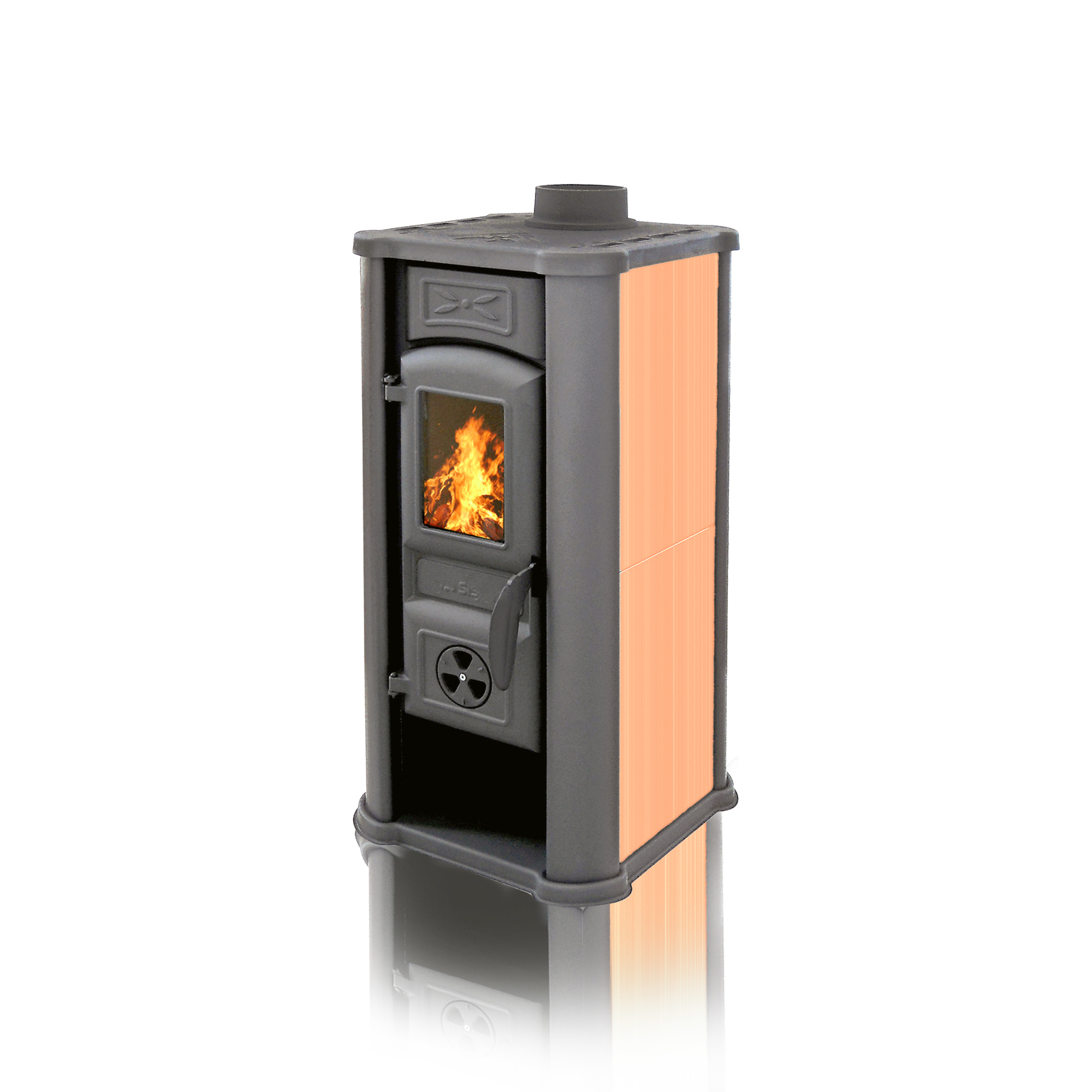 Fireplace Diana orange 6kW