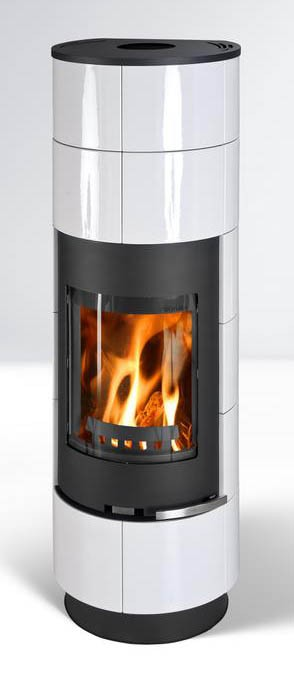 Fireplace Delia white 7,5kW