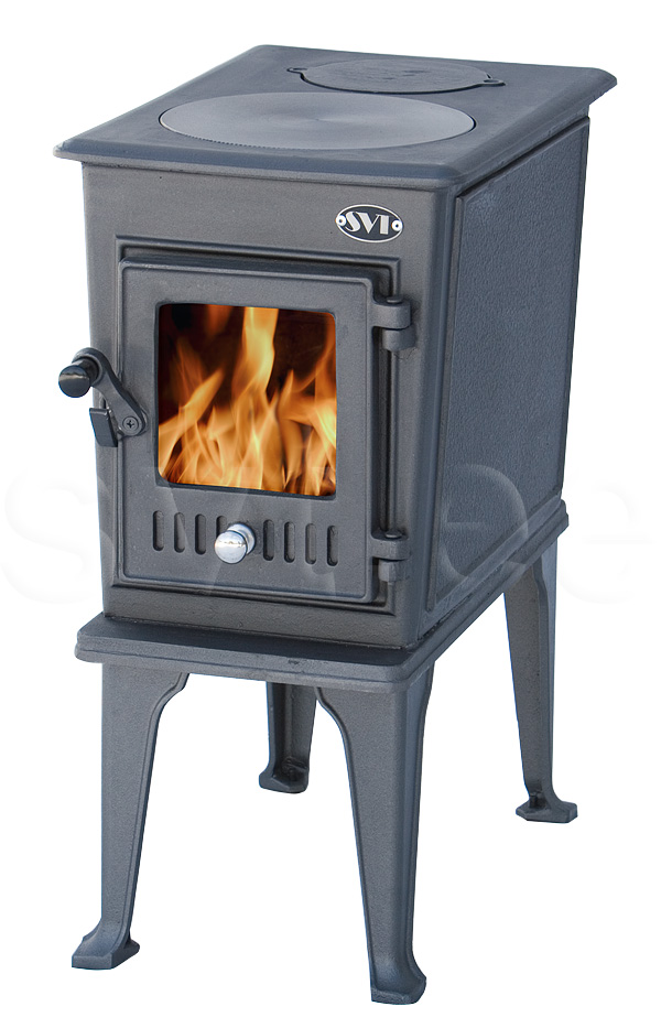 Cast iron stove Elena darkgrey 5kW