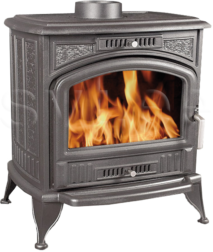 Cast iron fireplace Elisabeth 11kW black