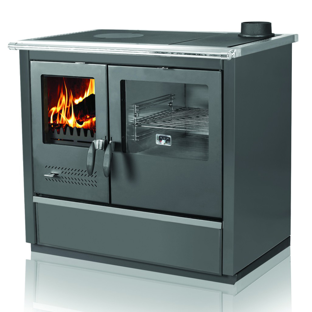 Woodburning cooker North black righthanded 9kW