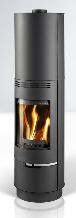 Fireplace Sevilla black 7,5kW