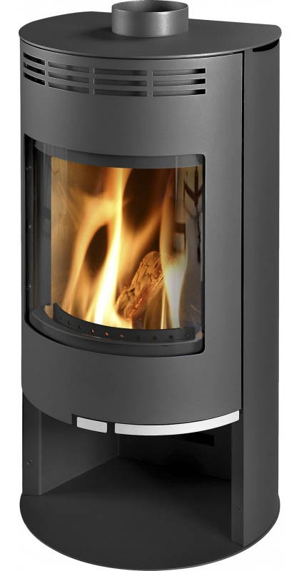 Fireplace Zaragoza black 5kW